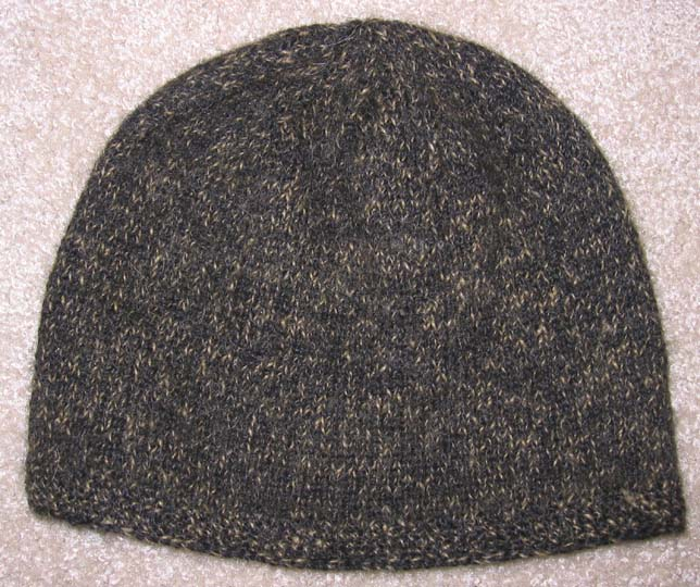 Andy's Alpaca Hat Close Up