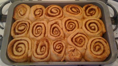 Cinnamon Rolls Full Pan