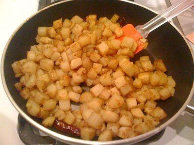 Potato Vindaloo