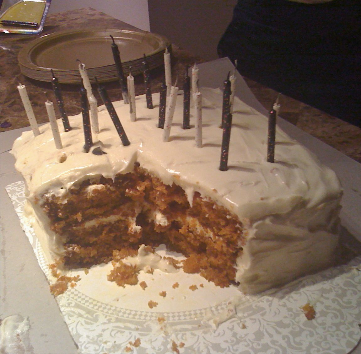 Carrot Cake Middle Section