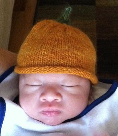 Noah Pumpkin Hat