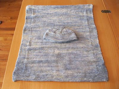 Owen Hat and Blanket Flat Straight