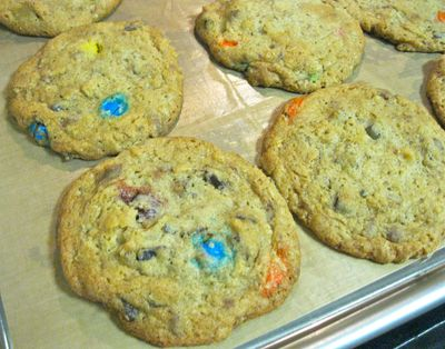 Compost Cookies Close Up