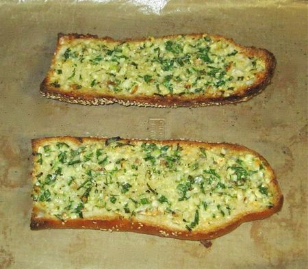 Cooks Illustrated Garlic Bread