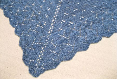 Madhu Shawl Close Up