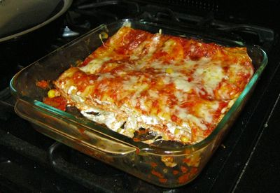 Kitchen Sink Lasagna