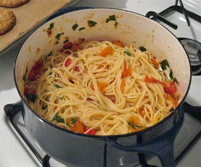 Fresh Tomato Pasta Complete