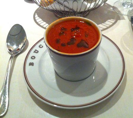 Bouchon Bakery Tomato Basil Soup