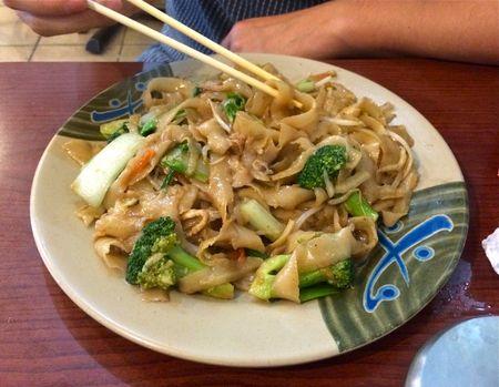 Tasty Hand Pulled Noodle Pan Fried Vegetable Noodles