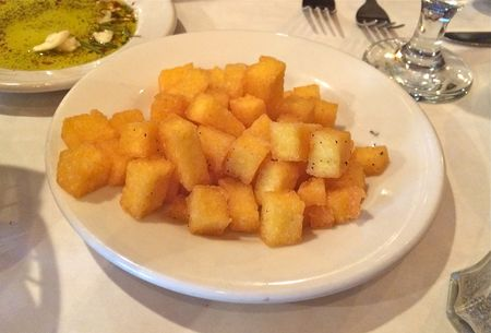 Trattoria Romano Fried Polenta Appetizer