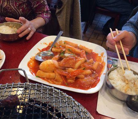 Ma Po Rice Cakes