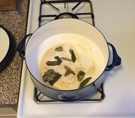 Sage Pasta Sage Cooking