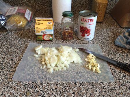 Tomato Cream Sauce Ingredients