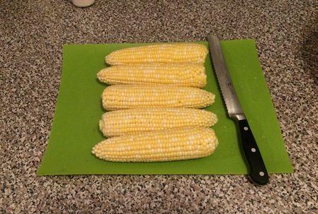 Corn Soup Corn Cobs