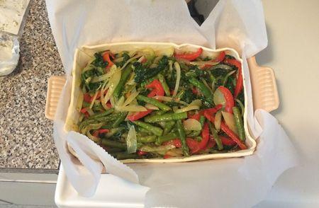 Vegetable Wellington - Vegetables in Filo v2