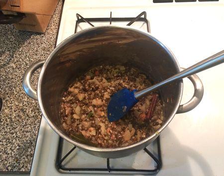Dal Makhani v2 Beans Cooking