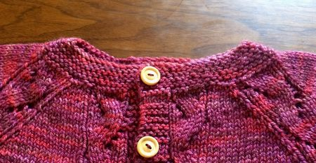 Theya Sweater Collar Close Up