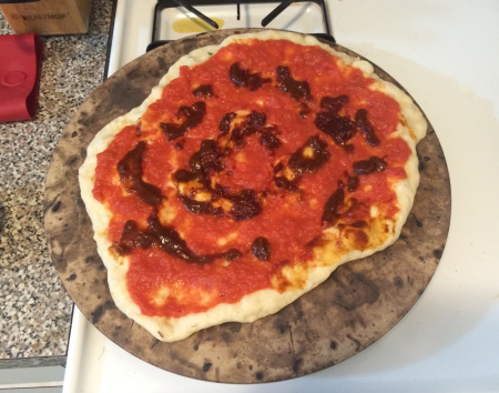 Fire and Smoke Pizza - Sauces