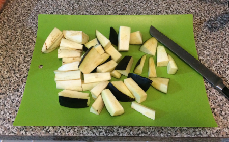 Sichuan Eggplant Cut