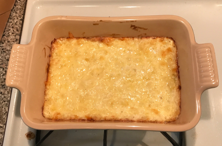 Three Cheese Dip - Baked
