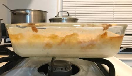 Vanilla Bean Pudding Cake - Baked Layers