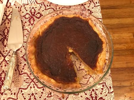 Salty Honey Pie - Served