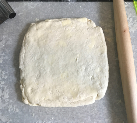 Flaky Buttermilk Biscuits - Ready for Cutting