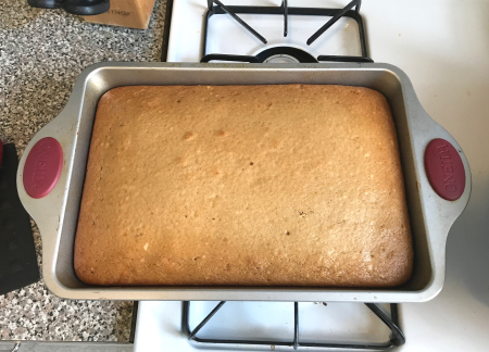 Buttermilk Cake - Baked