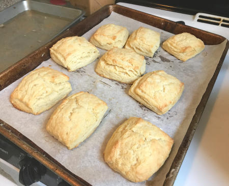 Ultra Flaky Biscuits - Out of Oven