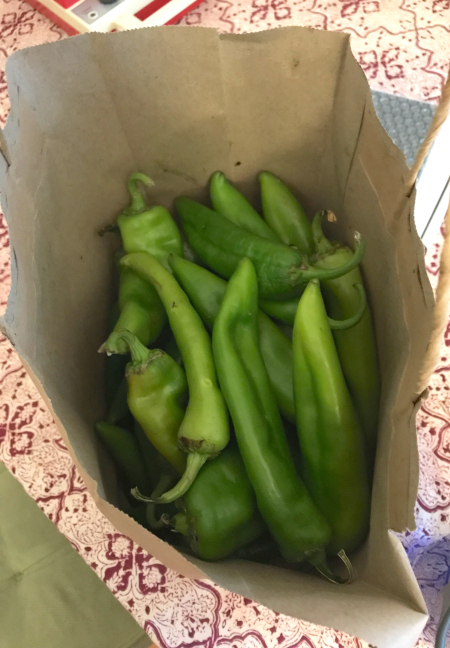 Hatch Green Chiles - in Bag