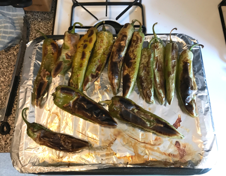 Hatch Green Chiles - Roasted