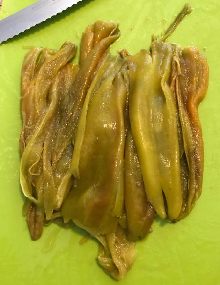 Hatch Green Chiles - Deseeded