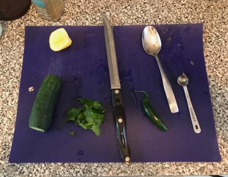 Mint Raita - Ingredients