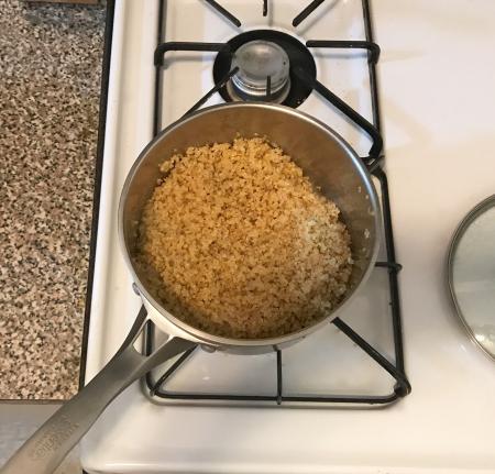 Herbed Quinoa - Cooked Quinoa