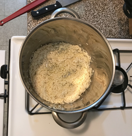 Pati Jinich - Mexican Rice Toasting