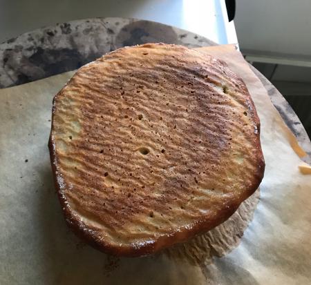 NYTimes Crusty Bread - Bread #2 Bottom Baked