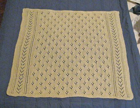 Violet Blanket Flat