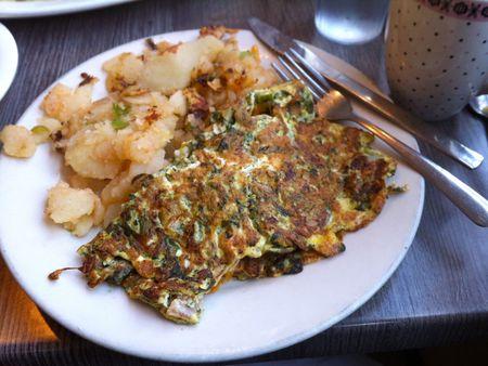 Toms Diner Omelette