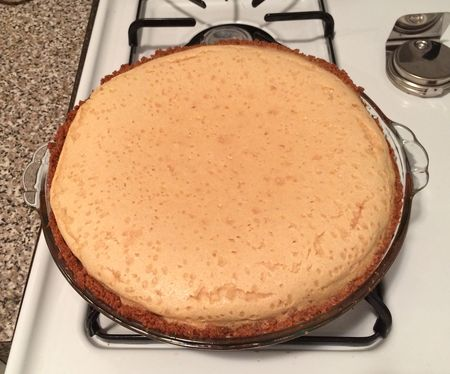 Buttermilk Pie Baked