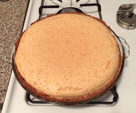 Buttermilk Pie Baked