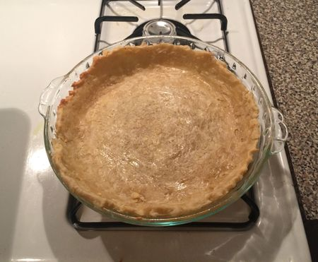 Maple Buttermilk Pie 1 Dough Baked