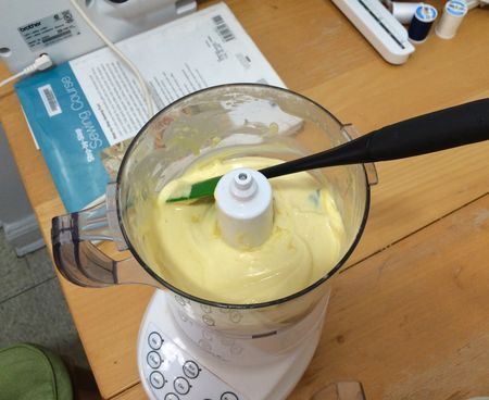 Patatas Bravos Aioli in Food Processor