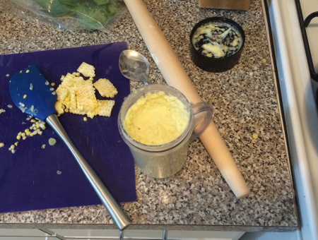 Corn Pasta - Blended Corn Pasta Sauce