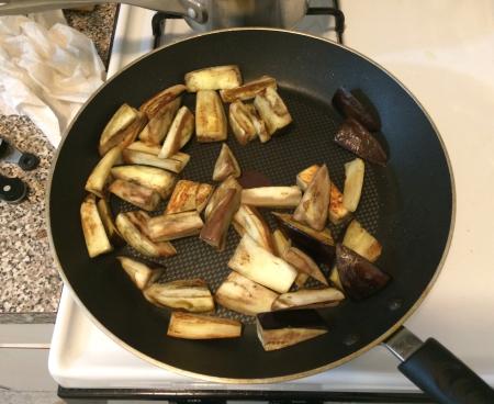 Sichuan Eggplant - Braising