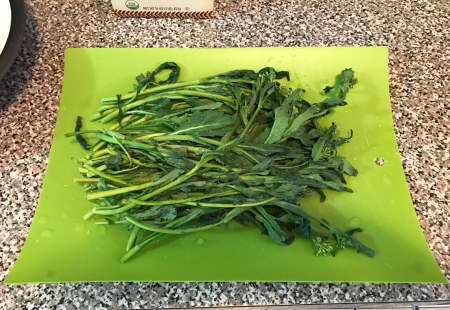 Broccoli Rabe Pasta - Washed Rabe