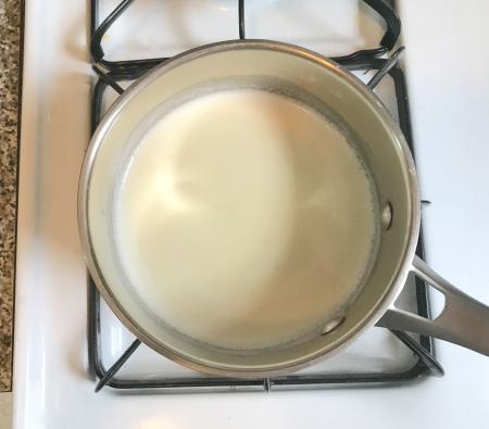 KAF Moist Chocolate Cake Heavy Cream Heating