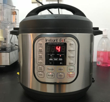 Instant Pot - Steel Cut Oats  Timer Set