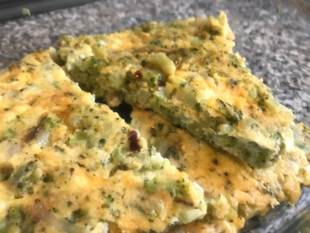 Broccoli Frittata - Pieces for Later