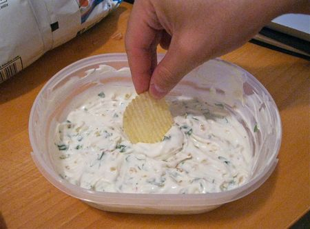 Onion Dip with Chip