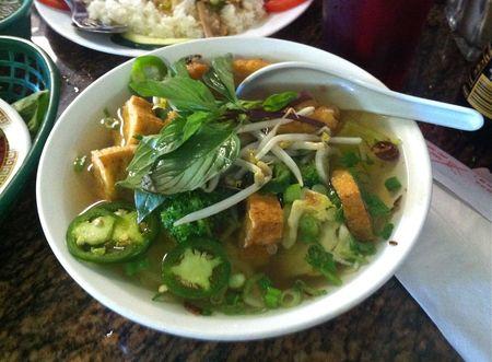 Pho Tau Bay Soup Rau Chay